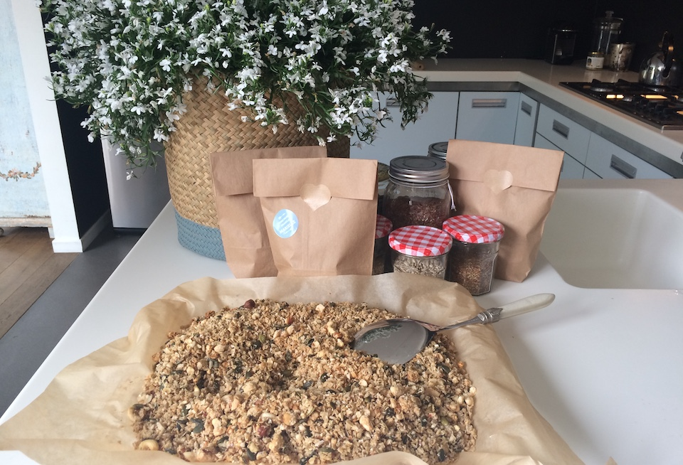 GEZONDE HOMEMADE GRANOLA: TO GOOD TO BE TRUE!